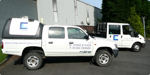 Landscaping grounds maintenance in Bolton