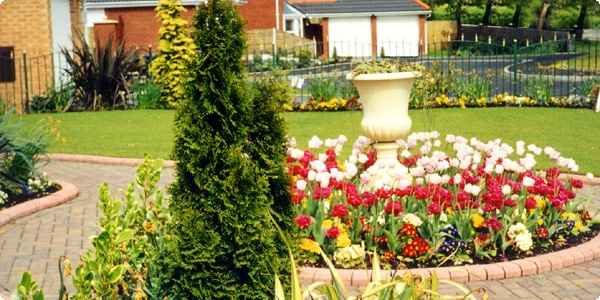 Showhome garden creation Bolton