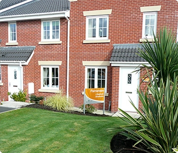 Soft Landscaping, lawns for showhomes